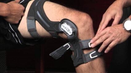 custom knee bracing